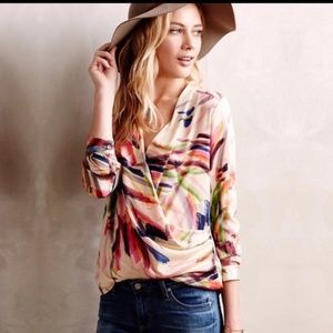 Anthropologie HD in Paris Camille Top Size 0